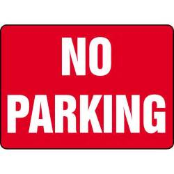 No-Parking Signs