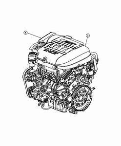 2010 Dodge Grand Caravan Engine  Long Block