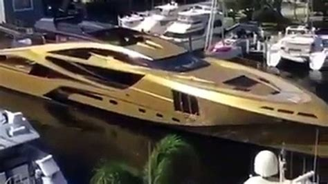History Supreme Superyacht by Most Expensive Yacht Is Plated In Gold 4 8 Billion
