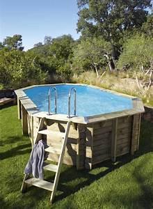 Eclairage Piscine Hors Sol : piscine hors sol bois 10 m2 ~ Dailycaller-alerts.com Idées de Décoration