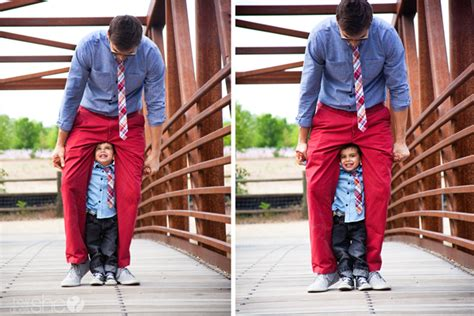 Like Father Like Son Styling Tips from a Toddler and his Dad.