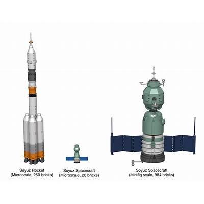 LEGO Ideas - Soyuz Spacecraft and Rocket