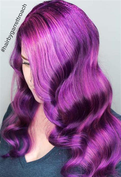 violet hair color ideas 63 purple hair color ideas to swoon violet purple