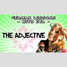 German Lesson 28  The Adjectives Youtube