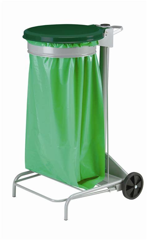 poubelle de cuisine verte poubelle de cuisine collecroule haccp couvercle vert 110