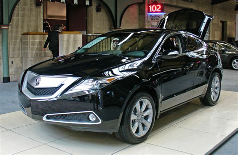 acura zdx car  catalog