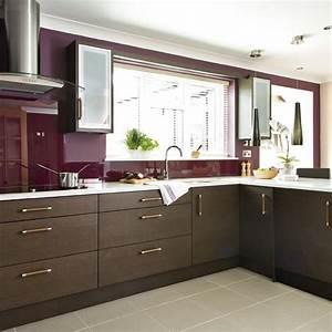 Modern Dark Wood Kitchen Designs
