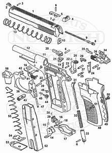 Bersa Thunder 380 Parts Diagram