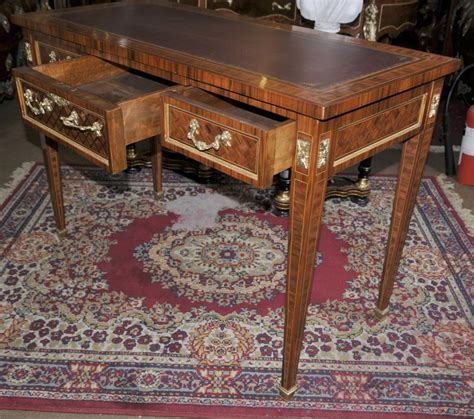 table bureau empire dummy partners desk writing table bureau plat