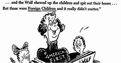 Seuss Cartoons Dr Trump Donald Political Editorial