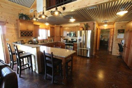 View photos of mueller's steel building barns, storage sheds, greenhouses and carport products. Barndominium kitchen by Mueller, Inc | Steel building ...