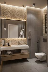 Bathroom, In, Warm, Colors, On, Behance