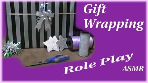 Birthday Gift Wrapping Asmr Rp Youtube