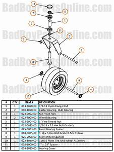 2017 Mz And Mz Magnum Front Fork Parts And Schematic