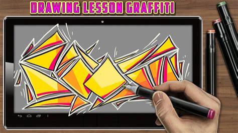 Grafiti Abjad Apk : Drawing Lesson Graffiti Apk Baixar