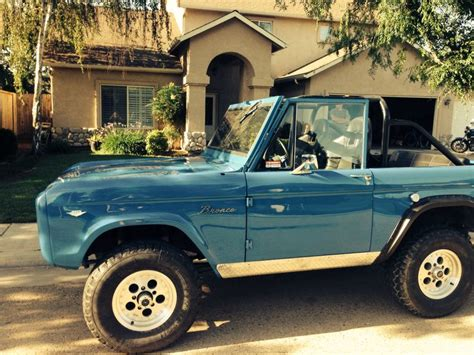 old bronco jeep john 39 s 39 67 bronco don 39 t even think of calling it a jeep