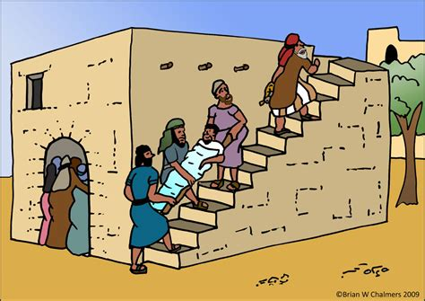 Jesus Heals The Paralytic Clipart Clipground