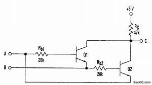 Inexpensive Two Transistor Xor Gate
