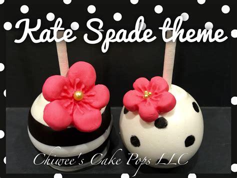 kate spade theme cake pops cake pops baby cake pops