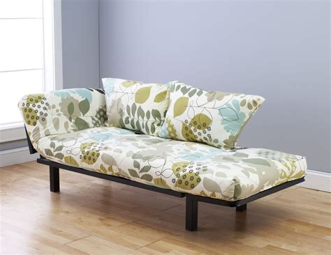 lounger futon spacely futon daybed lounger with mattress garden
