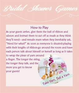 8 creative bridal shower games to have fun With unique wedding shower games
