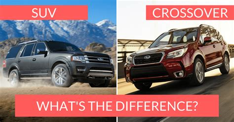Crossover Vs Suv by Crossover Vs Suv The Differences You Should About