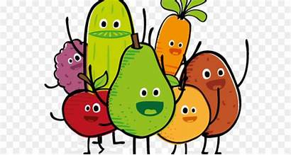 Healthy Cartoon Clipart Eating Nutrition Diet Snack