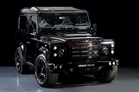 land rover defender  tricked   urban truck
