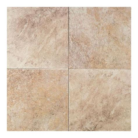 18 porcelain tile daltile continental slate egyptian beige 18 in x 18 in porcelain floor and wall tile 18 sq