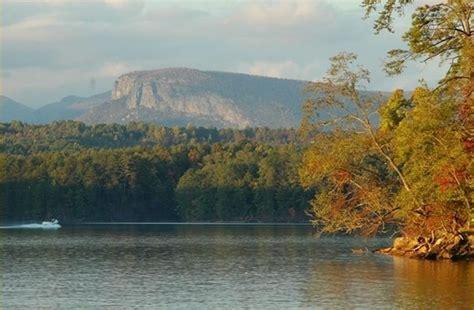 lake james rock formation nebo nc
