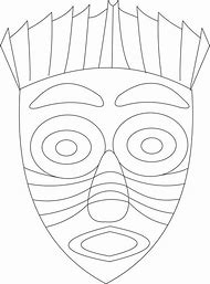 Best Masks Coloring Page Ideas And Images On Bing Find What You
