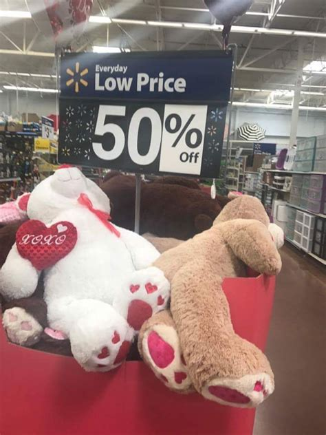walmart   valentines day clearance ftm