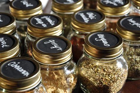 Spice Jars by Chalkboard Labeled Spice Jars Shuffling Freckles