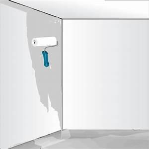 Toile De Mur : poser de la toile de verre sur un mur peinture ~ Teatrodelosmanantiales.com Idées de Décoration