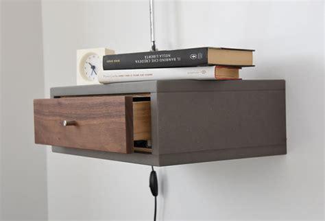 table de chevet murale avec 1 tiroir en entr 233 e de style table