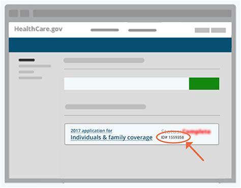 Application ID - HealthCare.gov Glossary