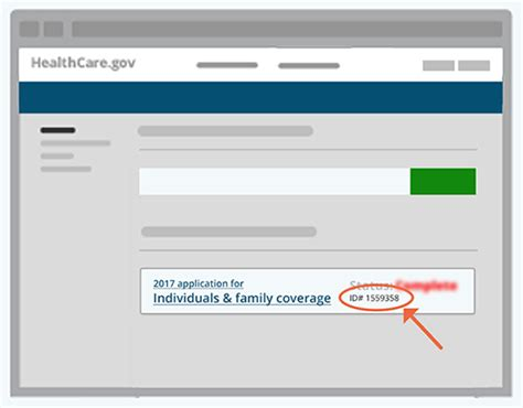 What is a health insurance policy number and where is it located? Application ID - HealthCare.gov Glossary  HealthCare.gov