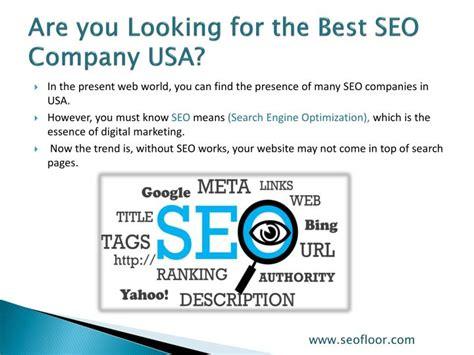 Best Seo Company by Ppt Best Seo Company Usa Seofloor Powerpoint