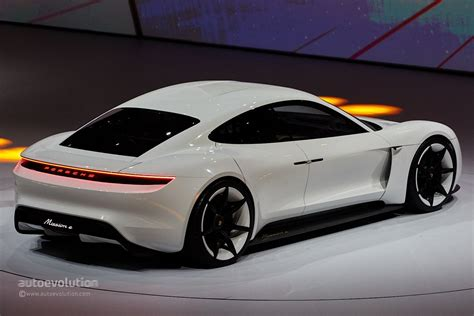 porsche electric porsche mission e gets production green light coming by