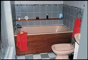 Habillage De Baignoire : fabriquer un tablier de baignoire amovible ~ Premium-room.com Idées de Décoration