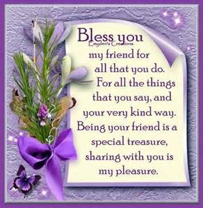 Friendship Blessing Quotes