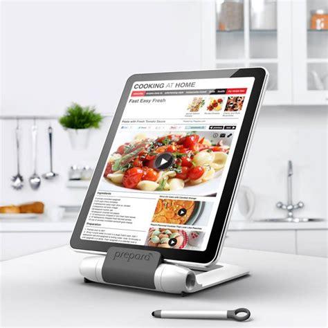 support cuisine tablette support pour tablette i prep spécial cuisine preparà
