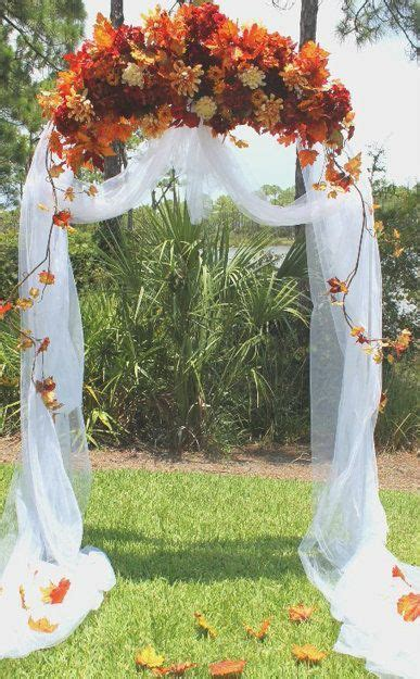 36 Fall Wedding Arch Ideas For Rustic Wedding Jasmines