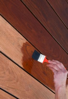 prepping staining  wooden garage door wessex garage doors
