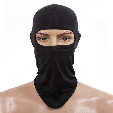 full face mask ski mask cycling neck protecting ultra thin outdoor lycra balaclava ebay