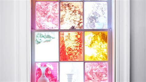 diy stained glass windows martha stewart