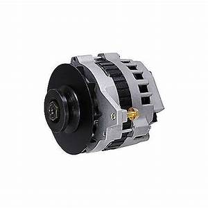 Msd Dynaforce 160 Amp 12v 1 Wire Alternator Natural Gm