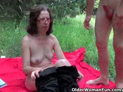 Granny Gets Her Asshole Invaded Outdoors Free Porn Videos Youporn
