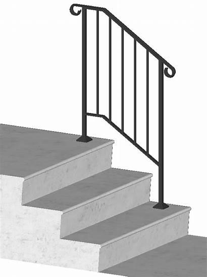 Handrails Diy Stair Railing Outdoor Steps Floor