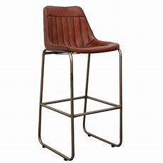 Leather Bar Chairs • Industrial And Vintage